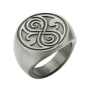 Jewelry - Doctor Who Seal of Rassilon Ring